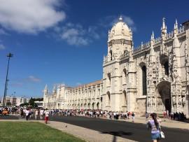 Es sollte stets das Erste sein, was vom Schiff aus bei der Ankunft in Lissabon zu sehen war: das Hiernoymuskloster…