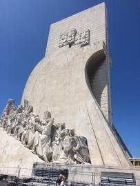 Das Denkmal Padrão dos Descobrimentos am nördlichen Ufer des Tejo erinnert an das Zeitalter der portugiesischen Entdeckungen im 15. und 16. Jahrhundert.