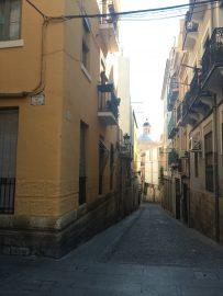 Die Gässchen in der Altstadt sind schmal und pittoresk mit überraschenden Ausblicken.