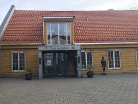 Der alte Teil des Fana Kulturhuses...